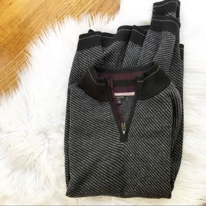 Ted Baker London Zip Pullover Sweater
